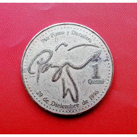 41-16 Гватемала, 1 кетсаль 2000 г.