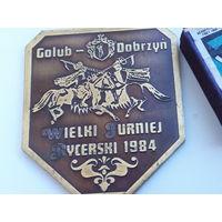 Польская настольная медаль