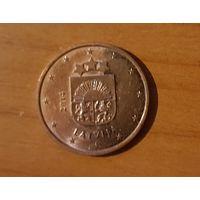 5 евроцентов 2014 Латвия