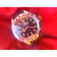 Часы КОМАНДИРСКИЕ 2414 ТАНК из СССР 1990-х