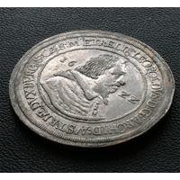 Талер 1622, Леопольд V, Халль. Штемпельный блеск, красивое коллекционное состояние!