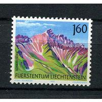 Лихтенштейн - 1992 - Горы - [Mi. 1038] - полная серия - 1 марка. MNH.