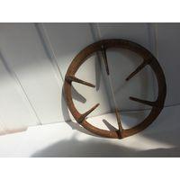 Старое большое кольцо для газовой плиты Латунь/бронза
