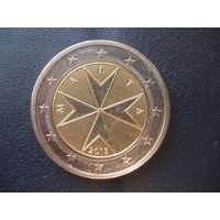 2 евро Мальта 2015 тираж 30 тысяч