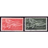 2 марки 1954 год Испанская Сахара Рыбы 147,149