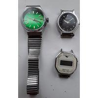 Часы заря , полет кварц , электроника СССР