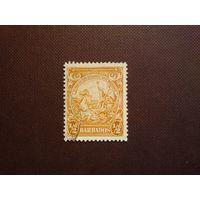 Барбадос 1938 г.Печать колонии.