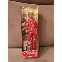 Кукла Барби Barbie Christmas morning 2003 с мишкой