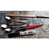 С рубля!  6 мелких нужных предметов для Вашей кухни! Ножик для масла,чайные ложечки и другое...