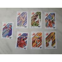 Марки Вьетнам 11 азиатские игры набор
