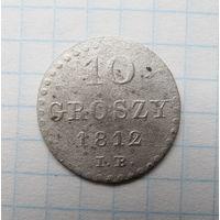 10 грошей 1812г