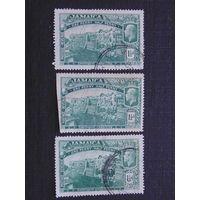 Английская Ямайка 1919 г. король Георг V. 1-я Мировая война.