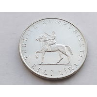 KM# 901 50 LIRA 20.1000 g., 0.8300 Silver 0.5363 oz. ASW, 34 mm.
