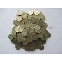 Сборный лот монет СССР ( 10, 15, 20 копеек), более 200 шт.