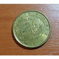 10 евроцентов 2005 Испания
