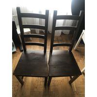 Стул стулья ikea КАУСТБИ бу есть 4шт массив сосны