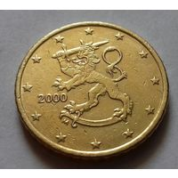 50 евроцентов, Финляндия 2000 г.