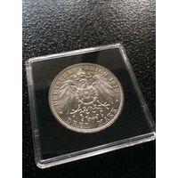 3 марки 1913.Саксония.