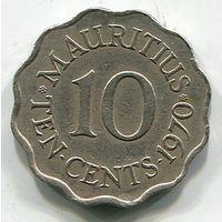 МАВРИКИЙ - 10 ЦЕНТОВ 1970