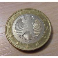 """1 евро Германия 2002 год """"G"""" из коллекции"""