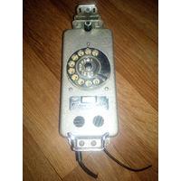 Судовой телефонный аппарат ТАС-М с дисковым номеронабирателем. (корабельный, каютный)
