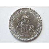 Швейцария 5 франков 1885г Копия
