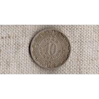 Мексика 10 сентаво 1942 ///FV/