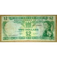 Фиджи 2 $ 1969г