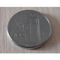 100 лир Италия 1992 г.в. KM# 96.2, 100 LIRE, из коллекции