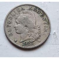 Аргентина 5 сентаво, 1922  4-10-45