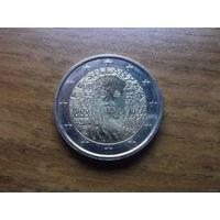 Финляндия 2 евро 2013  (125 со дня рождения Франца Эмиля Силланпяя)