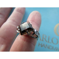 Перстень (кольцо) Ag. С 1 рубля!