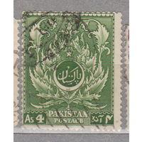 4-я годовщина независимости Пакистан 1951 год лот 1