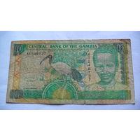 Гамбия 10 даласи не датирована.  распродажа