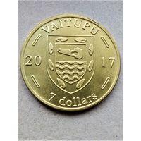 Ваитупу (Тувалу) 7 долларов 2017 - 7 шт.