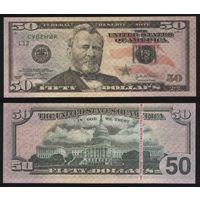 Сувенир - США 50 долларов 2004 год n212 торг заоблачный