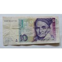 10 марок 1991г. Германия.