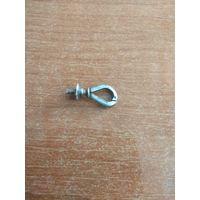 Защёлка для цепочки старинная серебро
