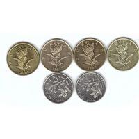 Хорватия 10, 20 липа набор 6 монет