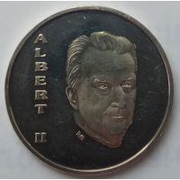 Бельгия 250 франков 1994 года. Серебро. Пруф! Редкая!