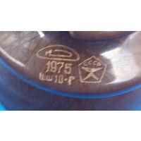 Изолятор штыревой фарфоровый ШФ 10Г -1975год- СССР -знак качества-