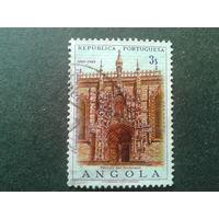 Ангола 1969, колония Португалии 500 лет королю Мануэлю 1, кирха полная серия