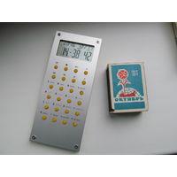 Часы-будильник-калькулятор (подарочные)