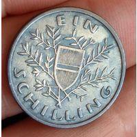 1 шиллинг Австрия 1925 серебро