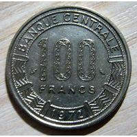 Габон 100 франков 1972 г.