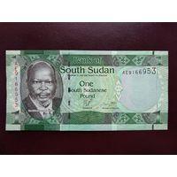 Южный Судан 1 фунт 2011 год UNC