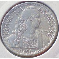 Французский Индокитай, 20 центов 1941 года (2-я монета)