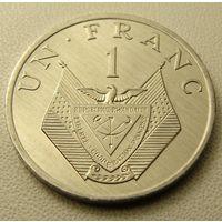 Руанда. 1 франк 1985 год KM#12