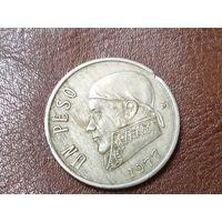 1 песо 1977 Мексика