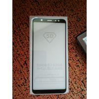 Стекло защитное Samsung Galaxy A6 Plus